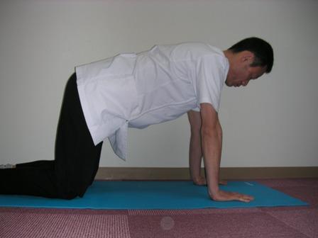 どこでもできる簡単腰痛予防